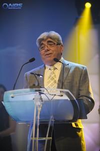 M. Guy Lessard lors de son hommage au Gala Zenith de Thetford Mines