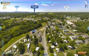 Visite virtuelle du camping Bon-jour situé à Granby.