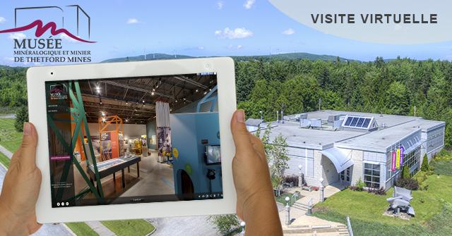 Visite virtuelle du Musée minéralogique et minier de Thetford Mines