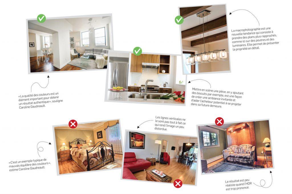 Immobilier : les photos, une lame à double tranchant