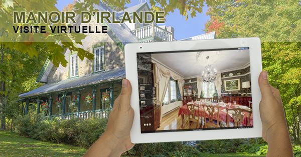 Visite virtuelle du Manoir d'Irlande par Nadeau Photo Solution