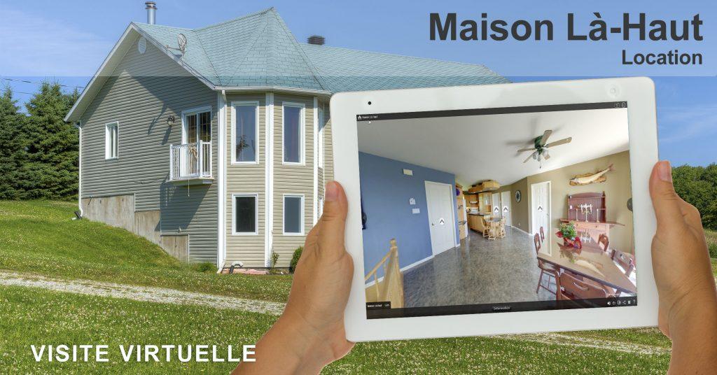 Visite virtuelle de la Maison Là-Haut par Nadeau Photo Solution