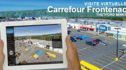 Le Carrefour Frontenac de Thetford Mines en visite virtuelle